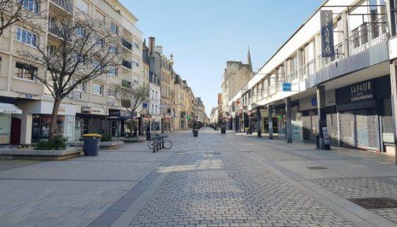 coronavirus commerce centre-ville