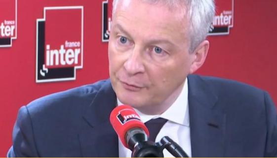 Bruno Le Maire il y aura des faillites