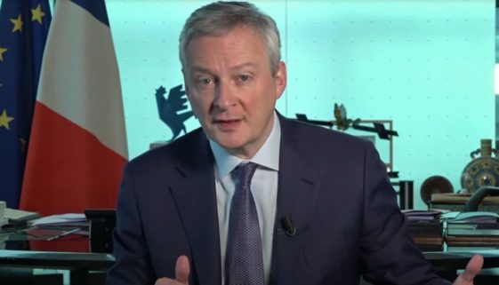 Bruno Le Maire libre de droit