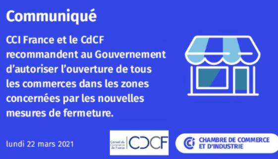 CCI et CDCF